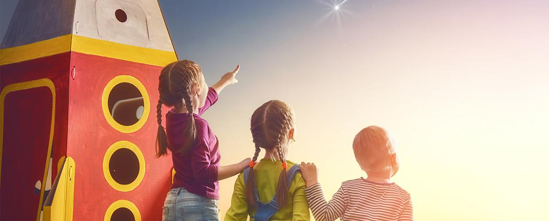 MV2 - background pour slider enfants étoile fusée